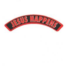Christian Sticker-JESUS HAPPENS #456