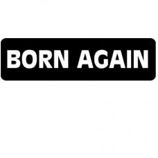 Christian Sticker-BORN AGAIN #1630