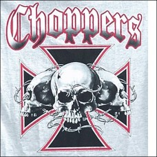T-Shirt-3 Scull Chopper