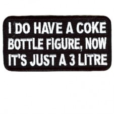 I do have a Coke bottle figure 3 Litre patch