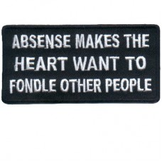 Absense makes the Heart patch