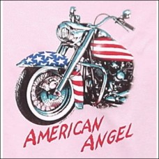 T Shirt-Long Sleeve-American Angel