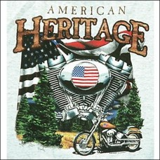 T Shirt-Long Sleeve-American Heritage