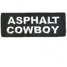 Asphalt Cowboy patch