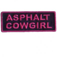 Asphalt Cowgirl patch
