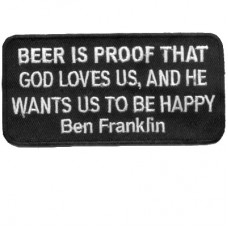 Ben Franklin Beer is Proof God Loves us