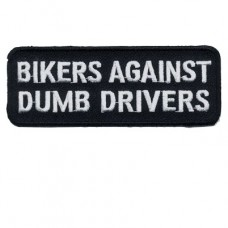 Bikers Against Dumb Drivers Patch