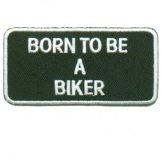 Patch-Born to Be a Biker