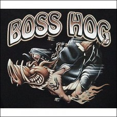 T Shirt-Long Sleeve-Boss Hog