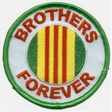 Brothers Forever Green Patch