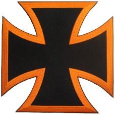 Bikers Cross Orange -Lg