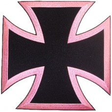 Bikers Cross Pink -Lg
