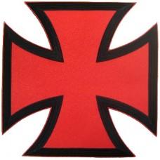 Bikers Cross Red -Lg