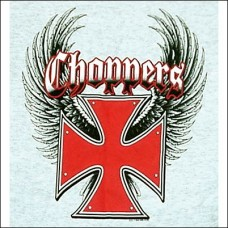 T Shirt-Long Sleeve-Choppers Wings