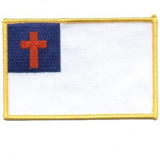 Patch-Christian Flag lg