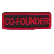Red Co-Founder patch
