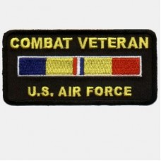 Combat Veteran Air Force Patch