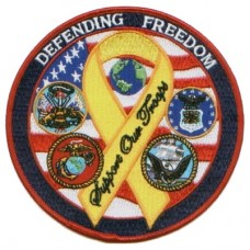 Hero Defending Freedom Ribbon Small