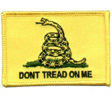 Dont Tread on Me Flag Small Patch