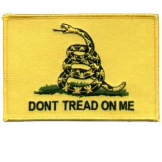 Dont Tread on Me Back Patch