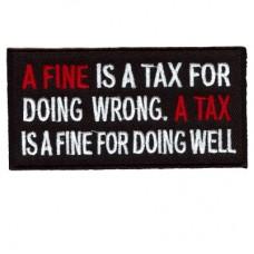 A Fine, A Tax