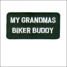 Patch-Grandmas Biker Buddy
