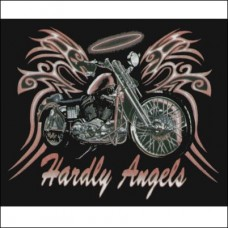 T Shirt-Long Sleeve-Hardley Angels