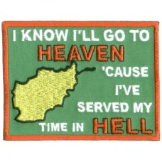 Go to Heaven - Afghanistan patch