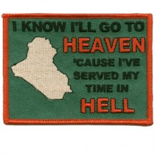 Go To Heaven Iraq Patch
