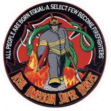 Fire Fighter Hero Patch-Sm