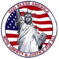 God Bless America Back Patch-lg