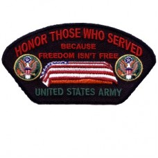 Honor Those Who Served Army Patch