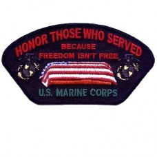 Honor Those Who Served Marine Patch