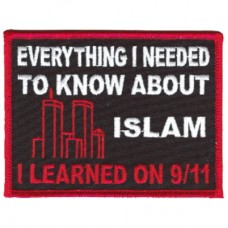 Everything I needed to Know 911 patch