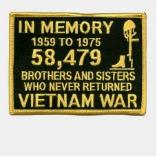 In Memory of the 58,479 Gold Patch