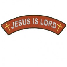 Jesus is Lord Top Rocker