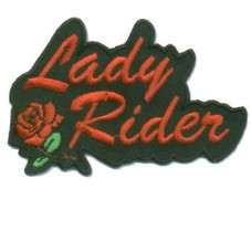 Small Lady Rider Red Rose