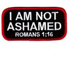 I am NOT ASHAMED patch