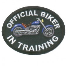 Official Biker in Training Blue