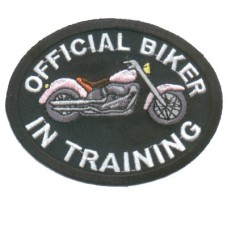 Official Biker in Training Pink