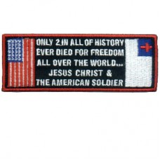 Patch-Only 2 In History Ever Died for Freedom