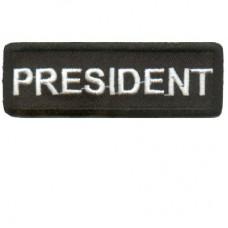 Blk President patch