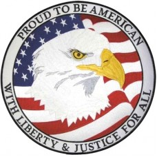 Proud to Be An American Back Patch-lg