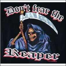 Denim-Sleeveless-Fear The Reaper