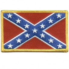 Confederate Flag Patch Sm