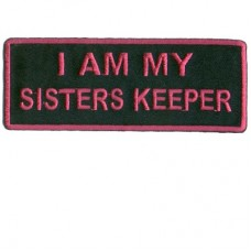 I am my sisters keeper patch- hot purple
