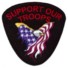 Support Our Troops Eagle Small