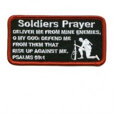A Soldiers Prayer Patch