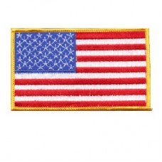 USA Flag Patch Lg